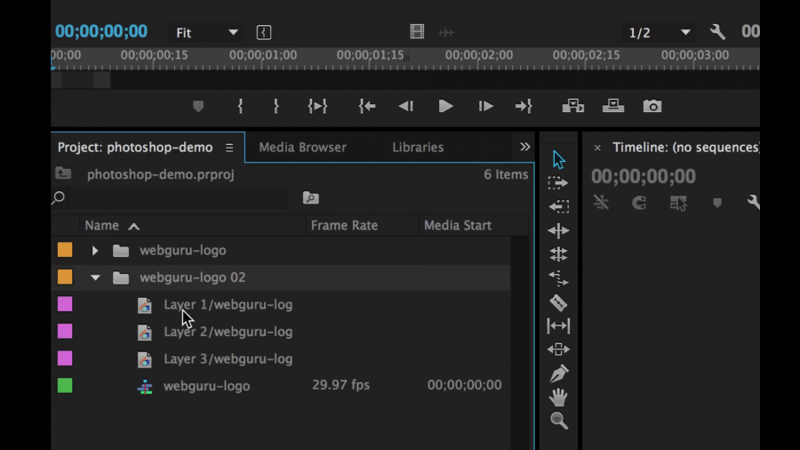 import-adobe-photoshop-into-premiere-pro-sequence
